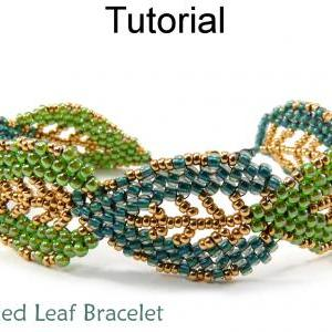 Leaf Bracelet Jewelry Making Tutori..