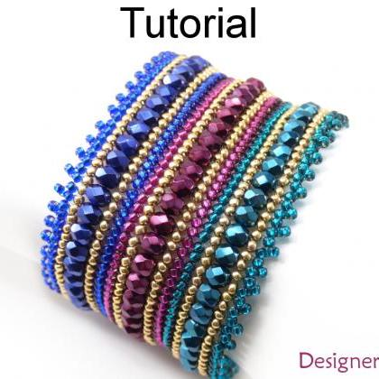 Beading Tutorial Pattern - Beaded B..