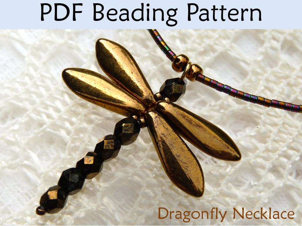 beading tutorial pattern necklace simple bead patterns