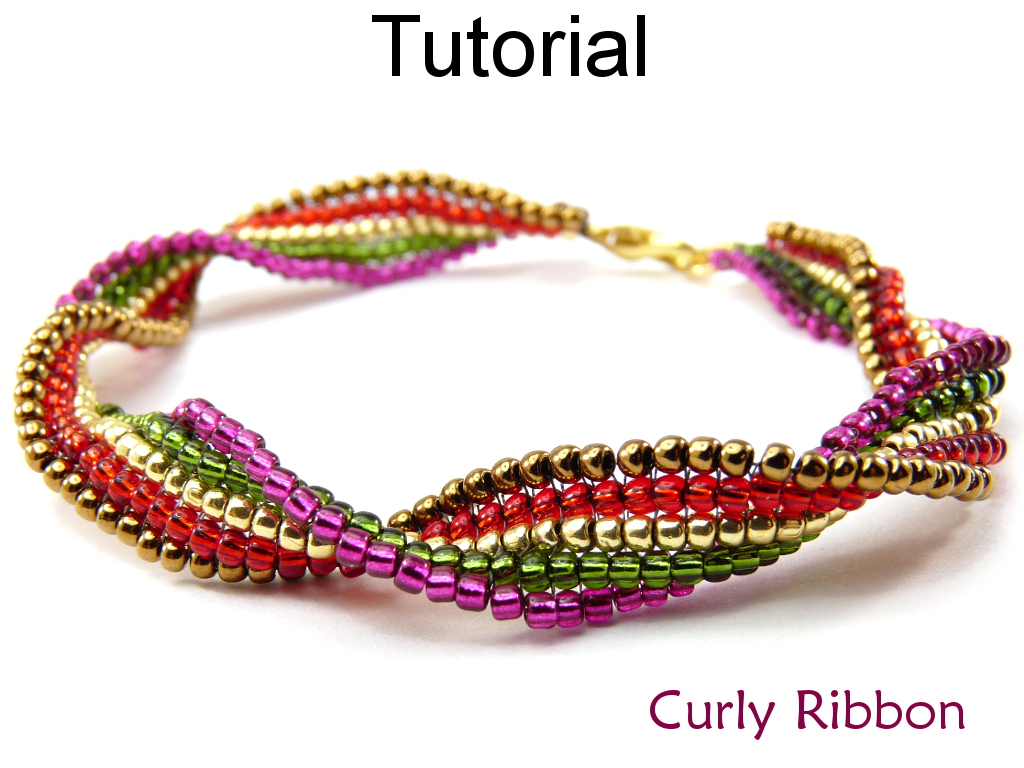 beading tutorial pattern bracelet square stitch simple